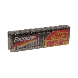 Energizer AA Batteries (Pack of 12+12)