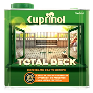 Cuprinol Total Deck Clear 2.5 Litre