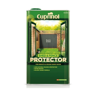 Cuprinol Shed and Fence Protector Rustic Green 5 Litre