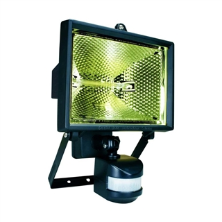 Byron Halogen Floodlight with Motion Detector 400W