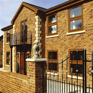 65mm Forterra Village Honey Gold Facing Brick