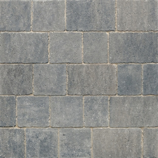 Trident Paviors 3 Size Project Pack 9.76m² Grey