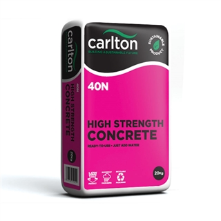Carlton 40N High Strength Concrete 20kg