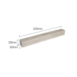 Prestressed Concrete Lintel 100mm x 100mm 1200mm (R - Type E)