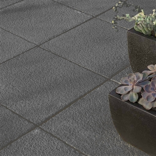 Torver Textured Paving 300mm x 300mm Charcoal
