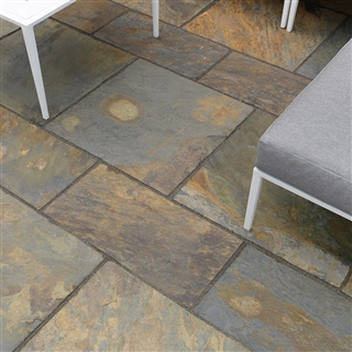 Truslate Paving 3 Size Project Pack 15.6m² Copper