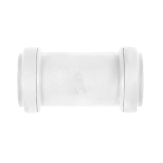 Polypipe Push-Fit Waste 40mm Universal Waste Coupler White UWC40