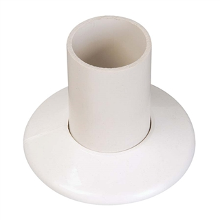 Talon Pipe Collars 22mm White