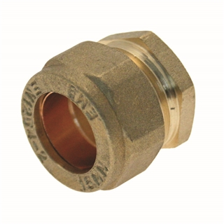 Compression Fitting Stop End 8mm