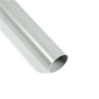 Polypipe Rainwater Round Pipe 50mm 2m Length Grey RM350