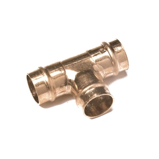 Solder Ring Fitting Equal Tee 22mm