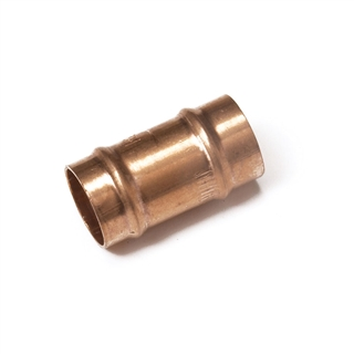 Solder Ring Fitting Straight Coupling 15mm