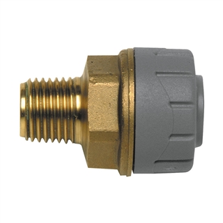 "Polyplumb 22mm x ¾"" Male BSP Adapter PB4322"