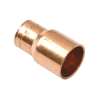 Endfeed Fitting Reducer 22mm x 15mm