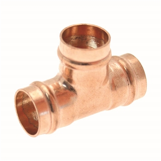 Solder Ring Fitting Equal Tee 8mm