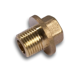 "Brass Fittings Flanged Plug ¼"" BSP"