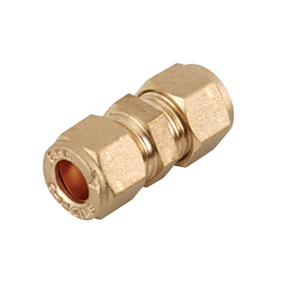 Compression Fitting Straight Connector 22mm