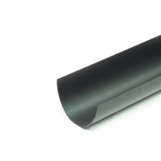 Polypipe Deep Capacity Gutter 117mm x 75mm 4m Gutter White RD501