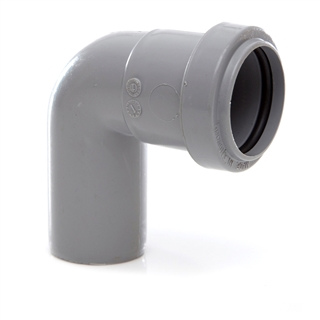Polypipe Push-Fit Waste 32mm 91¼° Swivel Bend Grey WP23