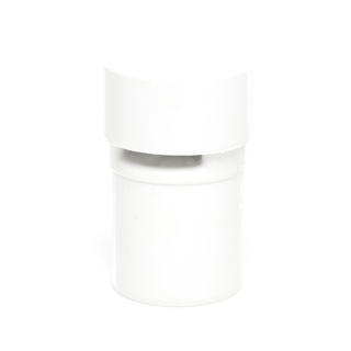 Polypipe Push-Fit Waste 40mm Anti-Syphon Unit White VWP40