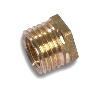 "Brass Fittings Hexagon Reducing Bush ½"" x 3/8"" BSP"