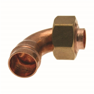 """Solder Ring Fitting Bent Tap Connector 22mm x ¾"""""""