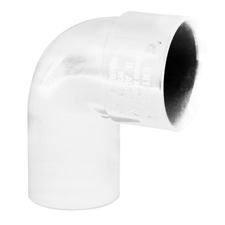 Polypipe Solvent Weld Waste 32mm 92½° Swivel Bend White WS23