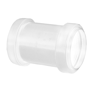 Polypipe Push-Fit Waste 40mm Straight Coupling White WP26