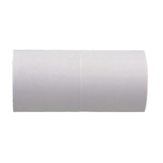 Polypipe Overflow 21.5mm Solvent Weld Straight Connector White NS44