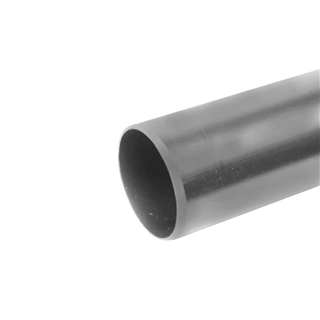 Polypipe Soil & Vent 110mm 4m Plain Ended Pipe Grey P440
