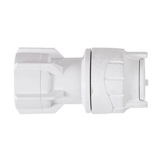 """Polyfit 15mm x ½"""" Hand Tighten Tap Connector FIT2715"""