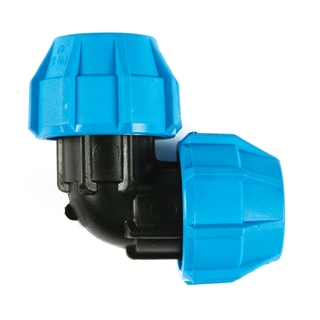 Polyfast MDPE Elbow 32mm 40132
