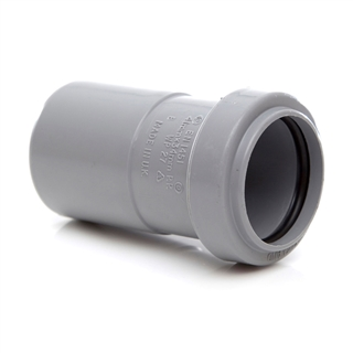 Polypipe Push-Fit Waste 50mm x 40mm Reducer Grey WP59