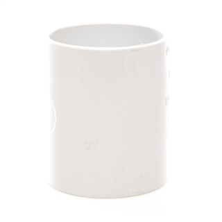 Polypipe Solvent Weld Waste 40mm Straight Coupling White WS26