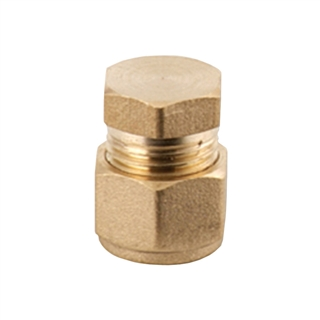 Compression Fitting End Cap 22mm
