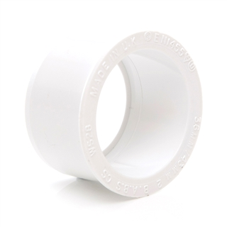 Polypipe Solvent Weld Waste 32mm x 40mm Reducer White WS28