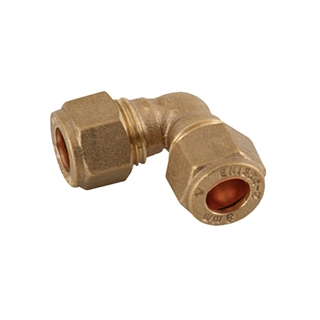 Compression Fitting Elbow 8mm
