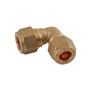 Compression Fitting Elbow 15mm