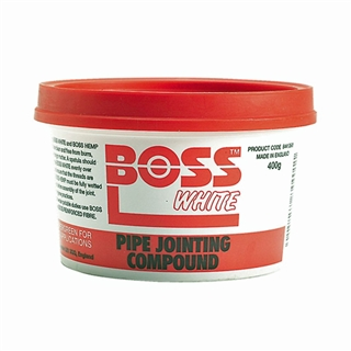 Boss White Pipe Jointing Compound 400g