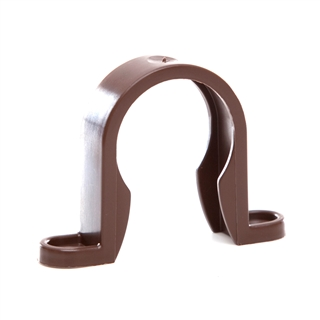 Polypipe Push-Fit Waste 32mm Pipe Clip Brown WP33