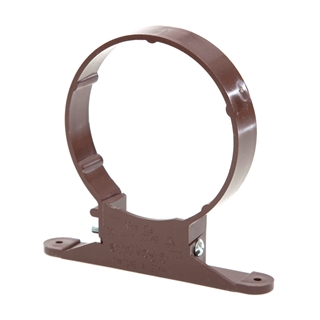 Polypipe Soil & Vent 110mm Pipe Clip Brown SC44