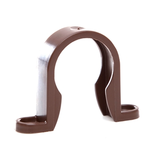 Polypipe Push-Fit Waste 40mm Pipe Clip Brown WP34