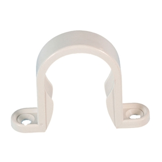 Polypipe Solvent Weld Waste 50mm Pipe Clip White WS65
