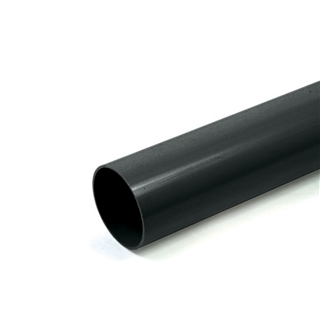 Polypipe Rainwater Round Pipe 68mm 5.5m White RR124