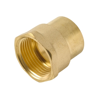 """Endfeed Fitting Adapter 22mm x ¾"""" MI"""