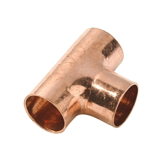 Endfeed Fitting Equal Tee 8mm
