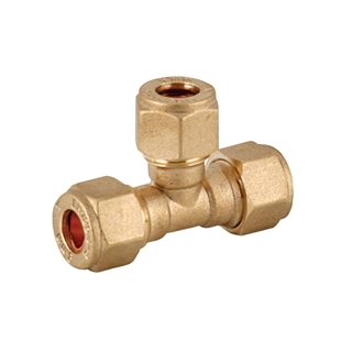 Compression Fitting Equal Tee 8mm