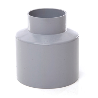 Polypipe Soil & Vent 110mm Reducer Waste Concentric Grey SO65