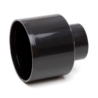 Polypipe Soil & Vent 110mm Reducer Waste Concentric Black SO65