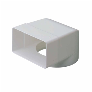 Domus Elbow Bend with Socket 100mm